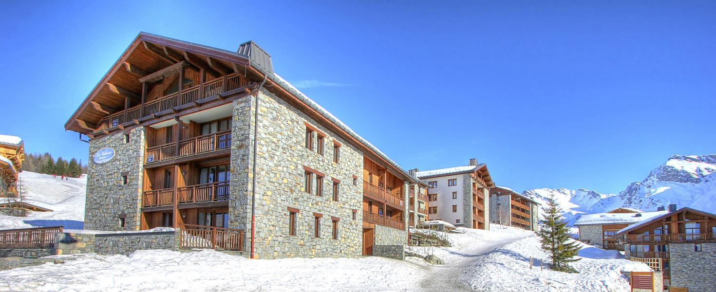 Urlaub in den Bergen Les Balcons de la Rosière - La Rosière - Draußen im Winter