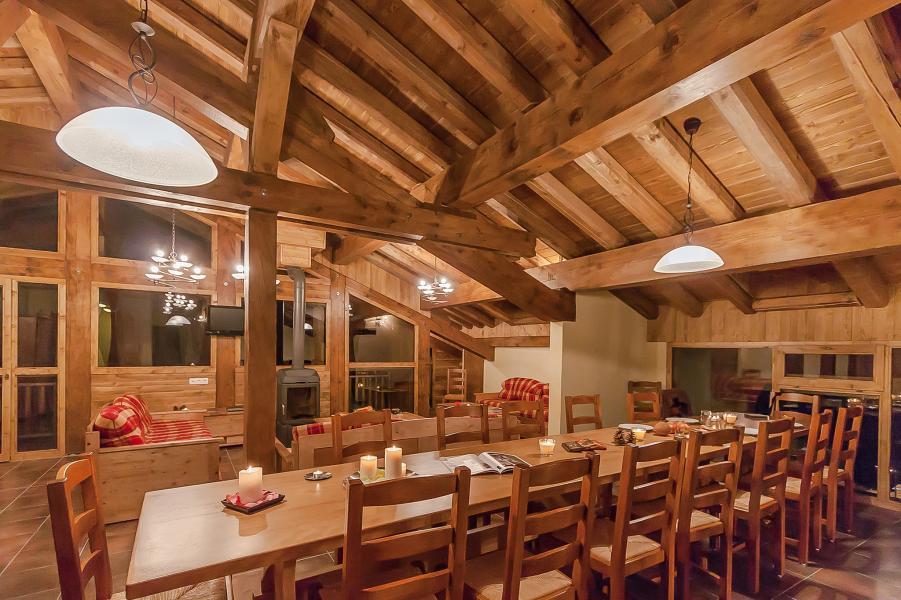 Alquiler al esquí Les Balcons de la Rosière - La Rosière - Mesa