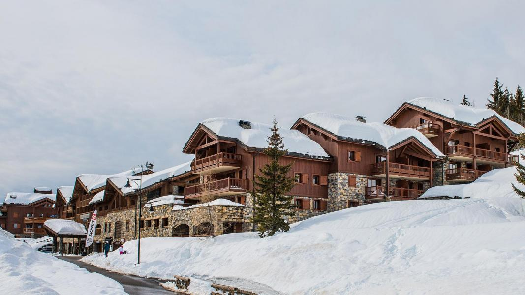 Urlaub in den Bergen Les Cimes Blanches - La Rosière - Draußen im Winter