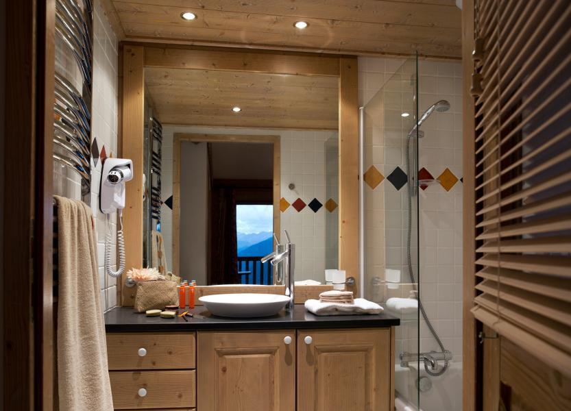 Alquiler al esquí Les Cimes Blanches - La Rosière - Cuarto de baño