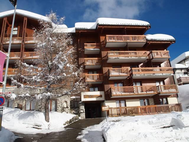 Vakantie in de bergen Les Hauts de la Rosière - La Rosière - Buiten winter