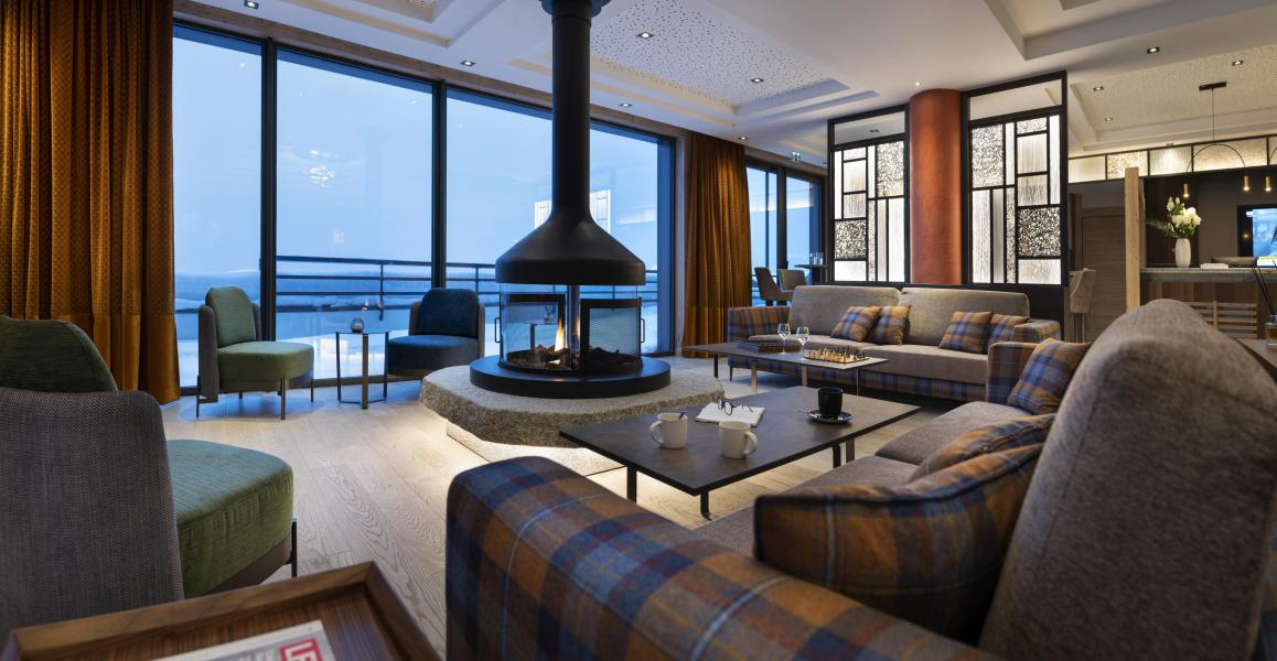 Location au ski Résidence Alpen Lodge - La Rosière - Réception