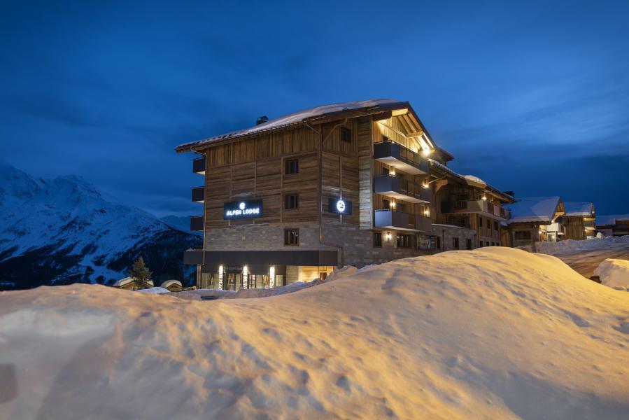 Location au ski Résidence Alpen Lodge - La Rosière - Extérieur hiver