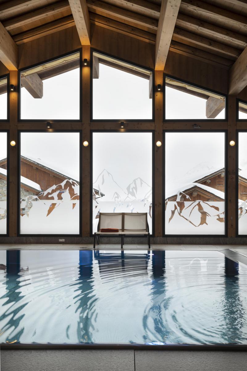 Location au ski Résidence Alpen Lodge - La Rosière - Piscine