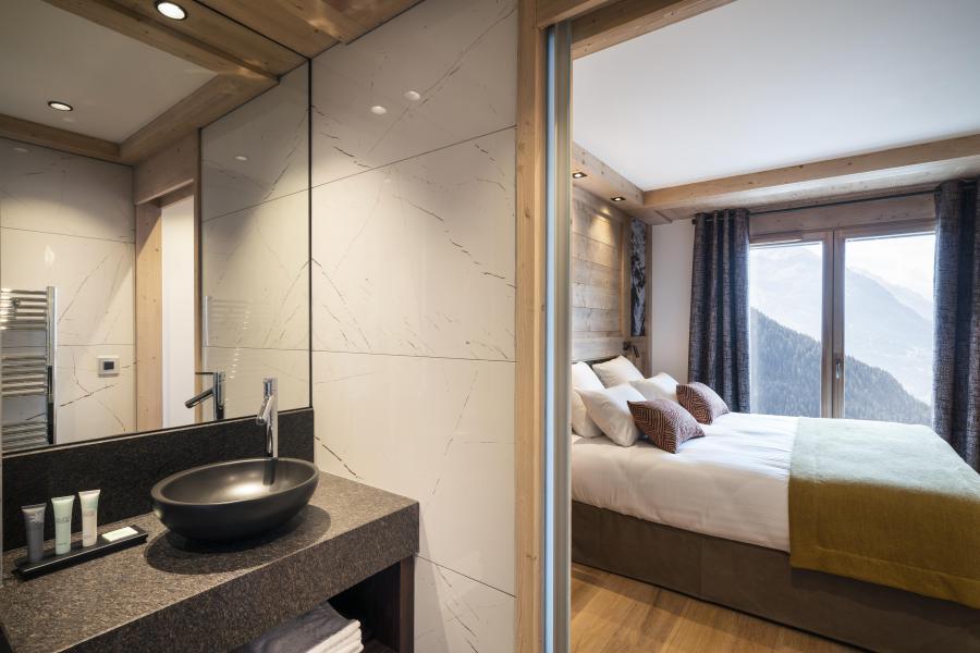 Location au ski Résidence Alpen Lodge - La Rosière - Salle d'eau