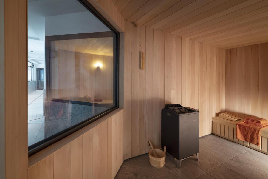 Location au ski Résidence Alpen Lodge - La Rosière - Sauna