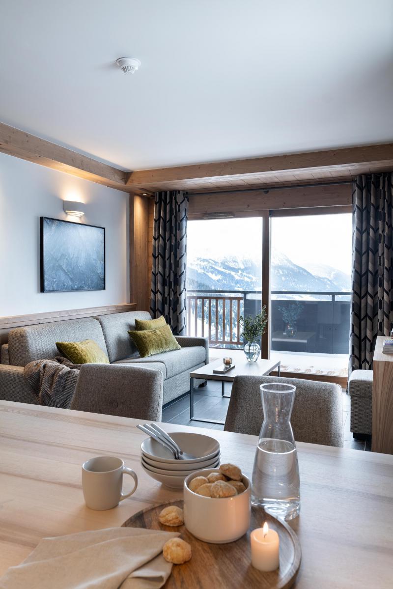 Location au ski Résidence Alpen Lodge - La Rosière - Séjour