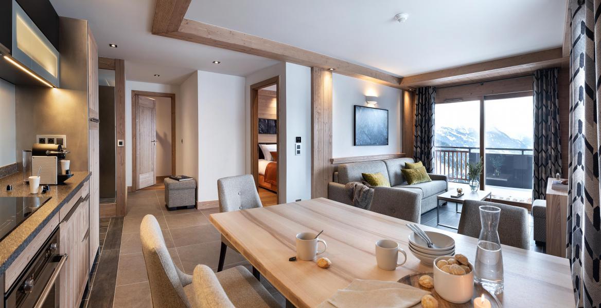 Location au ski Résidence Alpen Lodge - La Rosière - Table