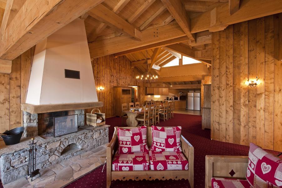 Alquiler al esquí Apartamento 7 piezas 12-14 personas - Résidence Chalet le Refuge la Rosière - La Rosière - Estancia