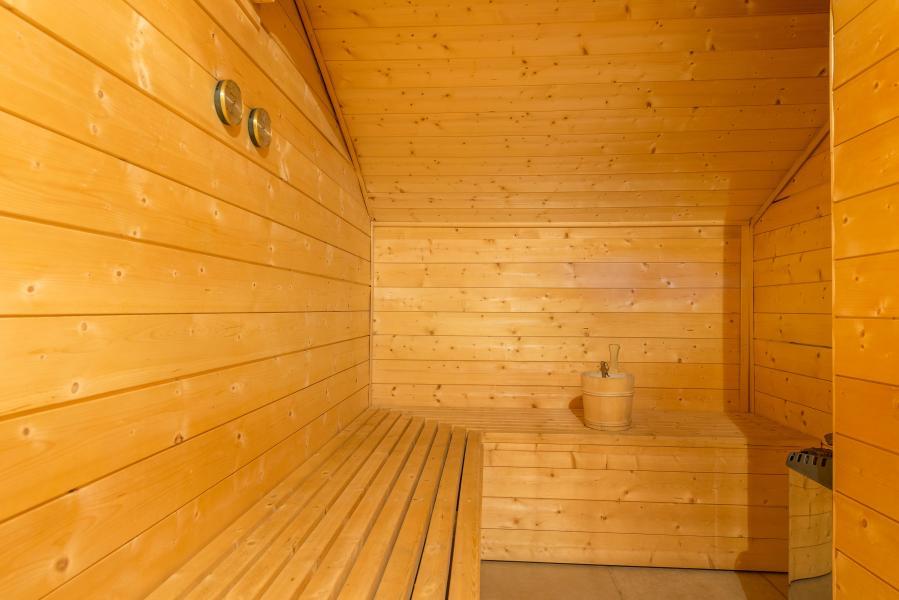 Alquiler al esquí Résidence Chalet le Refuge la Rosière - La Rosière - Sauna
