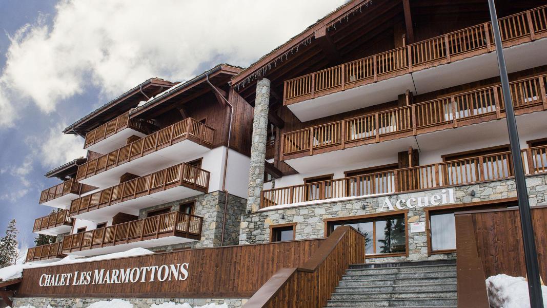 Location au ski Résidence Chalet les Marmottons - La Rosière - Extérieur hiver