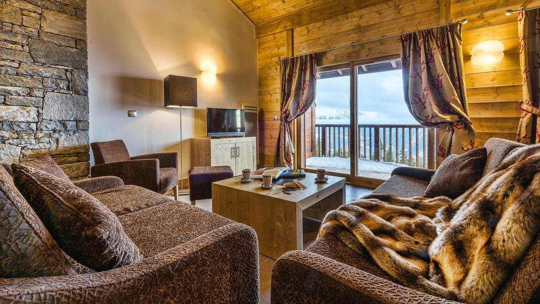 Location au ski Résidence Chalet les Marmottons - La Rosière - Séjour