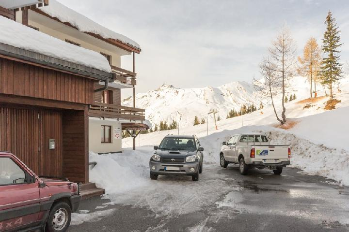 Holiday in mountain resort Résidence la Vanoise - La Rosière - Winter outside