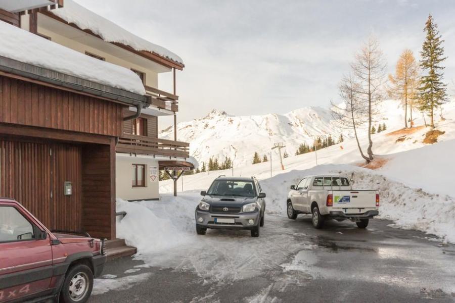 Vakantie in de bergen Résidence la Vanoise - La Rosière - Buiten winter
