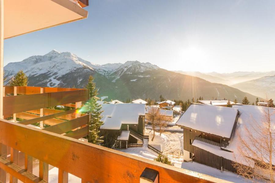 Vakantie in de bergen Studio 4 personen (311) - Résidence le Belvédère - La Rosière - Buiten winter