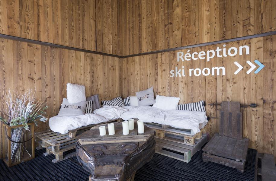 Location au ski Résidence le Hameau de Barthélémy - La Rosière - Réception
