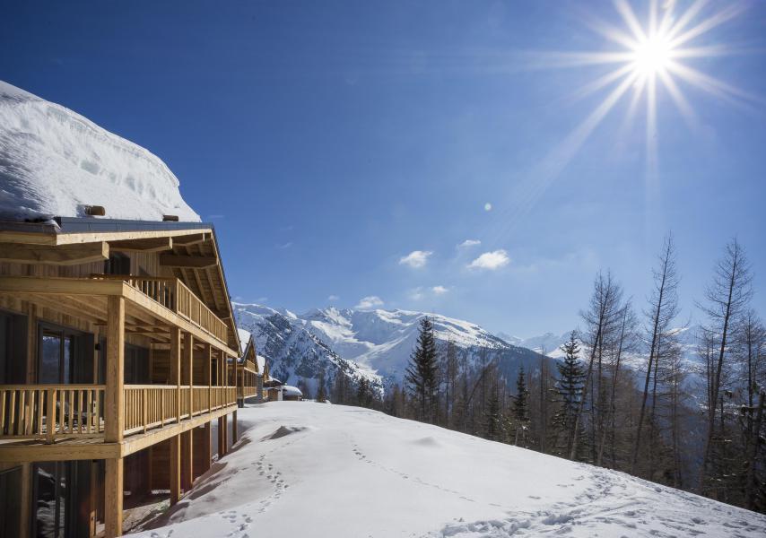 Location au ski Résidence le Hameau de Barthélémy - La Rosière - Extérieur hiver