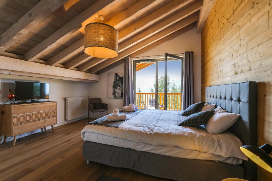 Location au ski Résidence le Hameau de Barthélémy - La Rosière - Chambre
