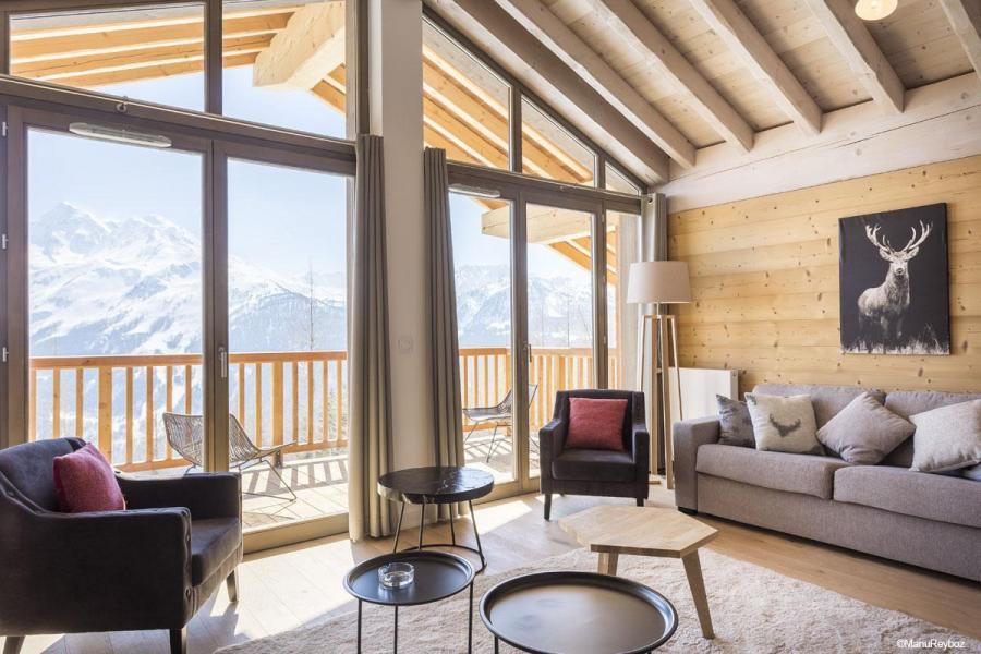 Location au ski Résidence le Hameau de Barthélémy - La Rosière - Fauteuil