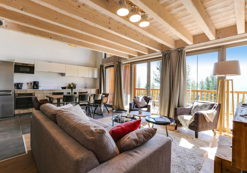 Location au ski Résidence le Hameau de Barthélémy - La Rosière - Séjour