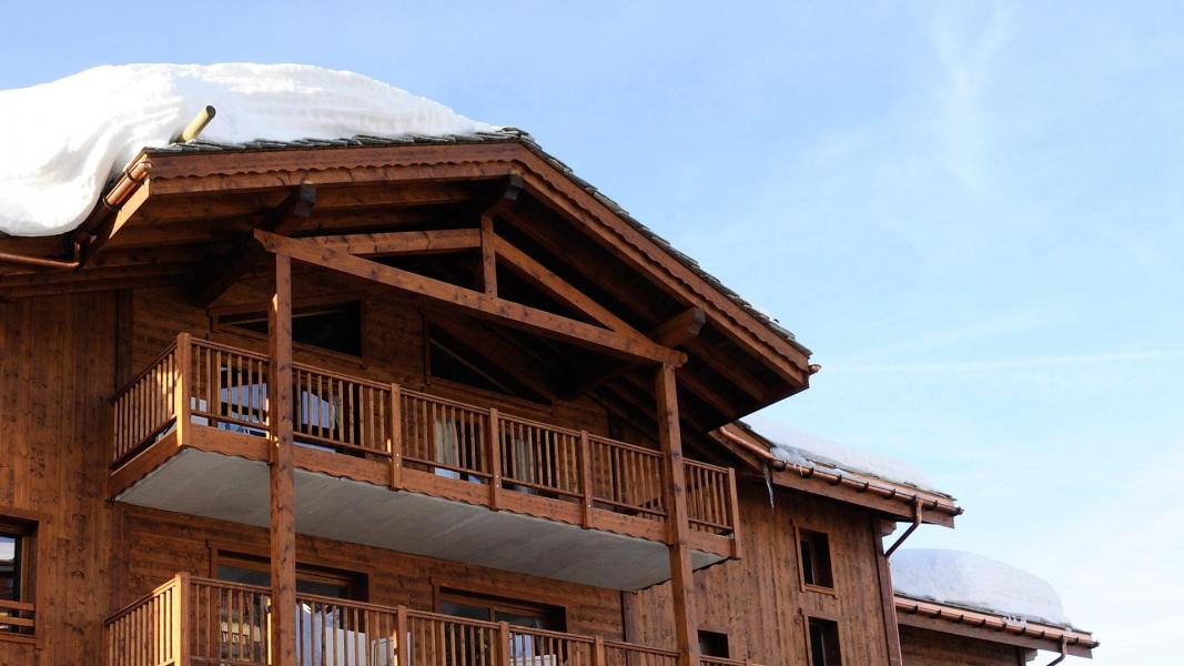 Location au ski Résidence le Lodge Hemera - La Rosière - Extérieur hiver