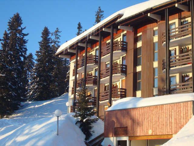 Location au ski Residence Les Bouquetins - La Rosière - Extérieur hiver