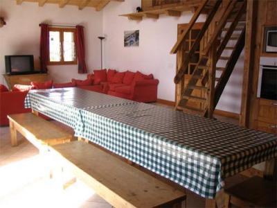 Location au ski Chalet 6 pièces mezzanine 14 personnes - Chalet Gaiduch - La Rosière - Table