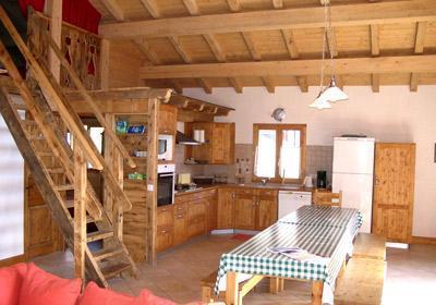 Location au ski Chalet Gaiduch - La Rosière - Salle à manger