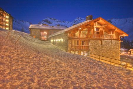 Vacances en montagne Les Balcons de la Rosière - La Rosière - Extérieur hiver