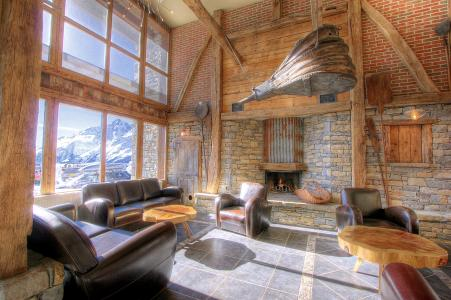 Location au ski Les Balcons de la Rosière - La Rosière - Réception