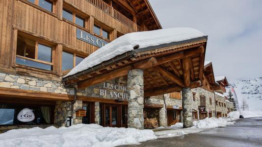 Location au ski Les Cimes Blanches - La Rosière - Extérieur hiver