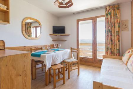 Rent in ski resort Studio sleeping corner 4 people (410) - Les Hauts de la Rosière - La Rosière - Bench seat