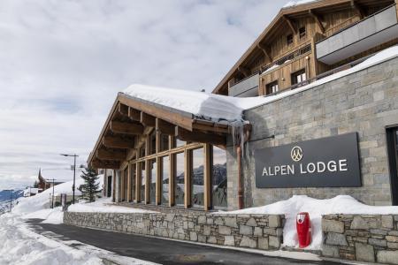 Vacances en montagne Résidence Alpen Lodge - La Rosière - Extérieur hiver