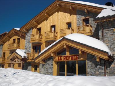 Vacances en montagne Résidence Chalet le Refuge la Rosière - La Rosière - Extérieur hiver
