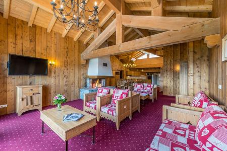 Rent in ski resort 7 room apartment 12-14 people - Résidence Chalet le Refuge la Rosière - La Rosière - Bench seat
