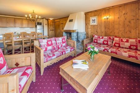 Location au ski Appartement 4 pièces 6-8 personnes - Résidence Chalet le Refuge la Rosière - La Rosière - Séjour