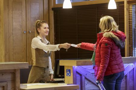Rent in ski resort Résidence Chalet les Marmottons - La Rosière - Reception