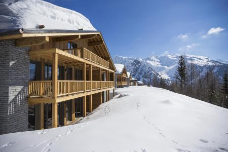 Location La Rosière : Résidence le Hameau de Barthélémy hiver