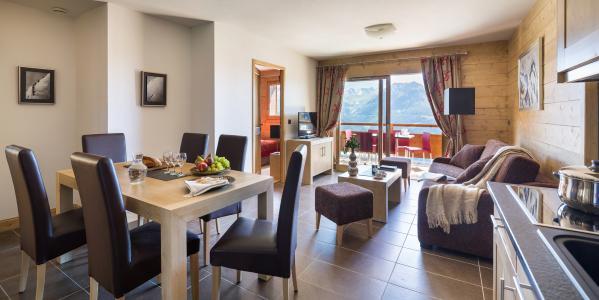 Location au ski Résidence le Lodge Hemera - La Rosière - Coin repas