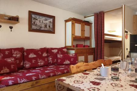 Rent in ski resort Studio sleeping corner 4 people (B321) - Résidence les Bouquetins - La Rosière