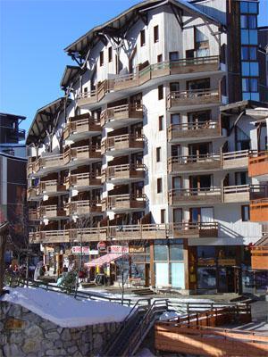 Location au ski Residence Pierre & Vacances Le Christiania - La Tania - Extérieur hiver