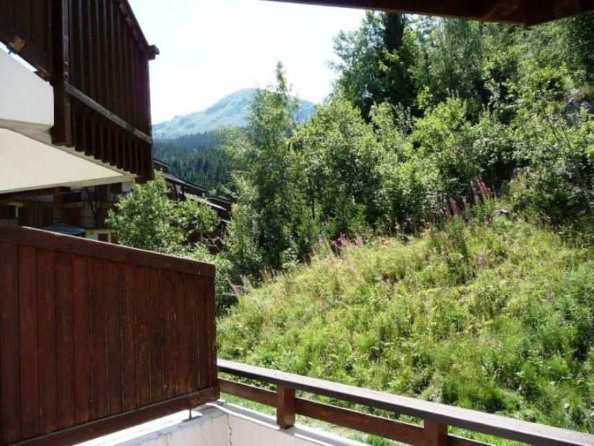 Location au ski Appartement 2 pièces 4 personnes (04) - Residence Saboia B - La Tania - Terrasse