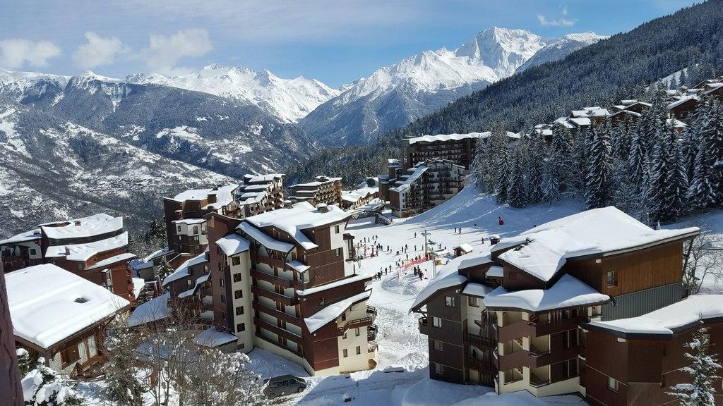 Location au ski Appartement 2 pièces 4 personnes (34) - Residence Saboia - La Tania - Extérieur hiver