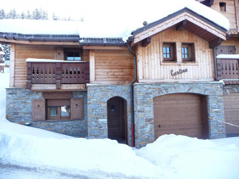 Location au ski Chalet Carlina Extension - La Tania