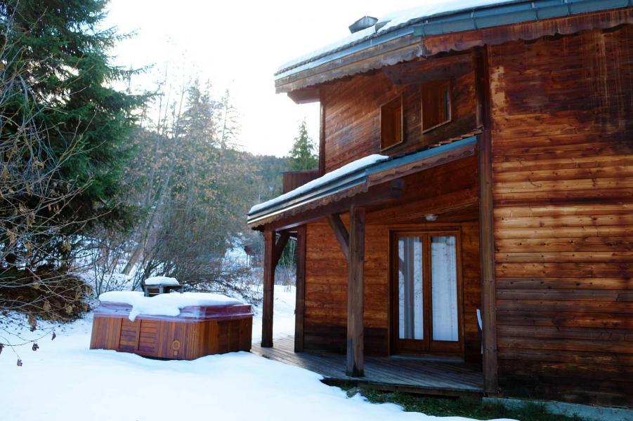 Ski verhuur Chalet Lea - La Tania - Buiten winter