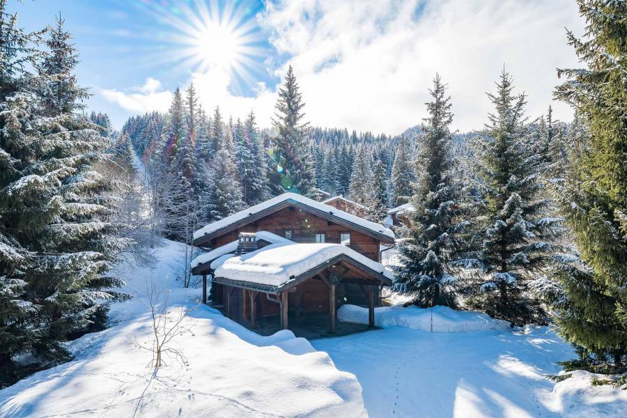 Vacances en montagne Chalet Léa - La Tania - Extérieur hiver