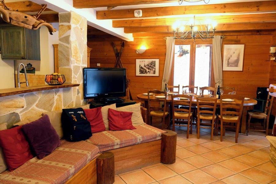 Ski verhuur Chalet Lea - La Tania - Zitbank