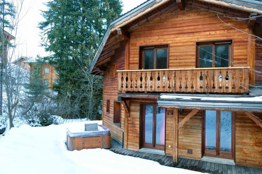 Ski verhuur Chalet Morgane - La Tania - Buiten winter