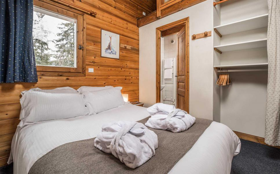 Ski verhuur Chalet Morgane - La Tania - Kamer