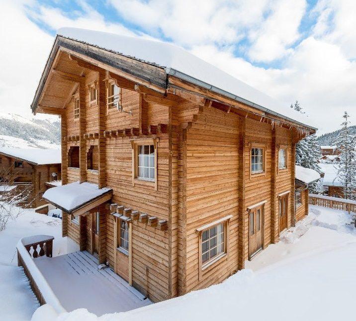 Location au ski Chalet Noella - La Tania - Extérieur hiver